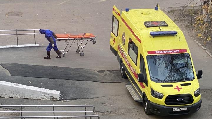 В Тюменской области пять человек скончались от COVID-19