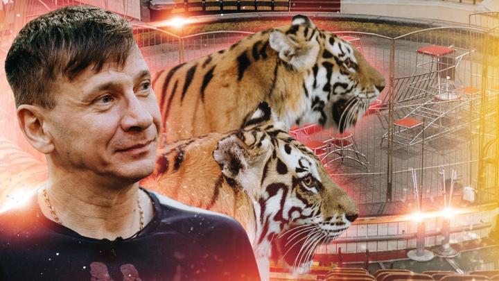 Цирк не уехал: где живут и как репетируют тигры и львы, которые застряли в Тюмени в пандемию