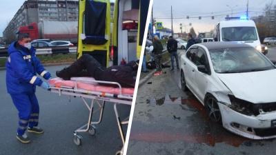 «Знаки и камеры работают слабо»: урбанист — о жутком ДТП на Объездной, где Volkswagen вылетел на красный и сбил пешехода