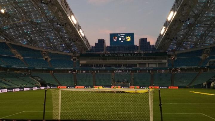 Испанский стыд вместо футбола: журналист 161.RU — о матче «Сочи» — «Ростов»