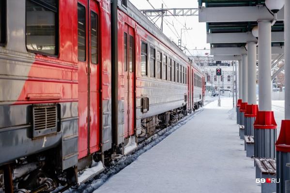Сейчас проезд в электричке по территории Перми стоит 20 рублей