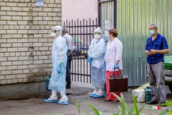 В Ярославской области рост заболевших коронавирусом продолжается
