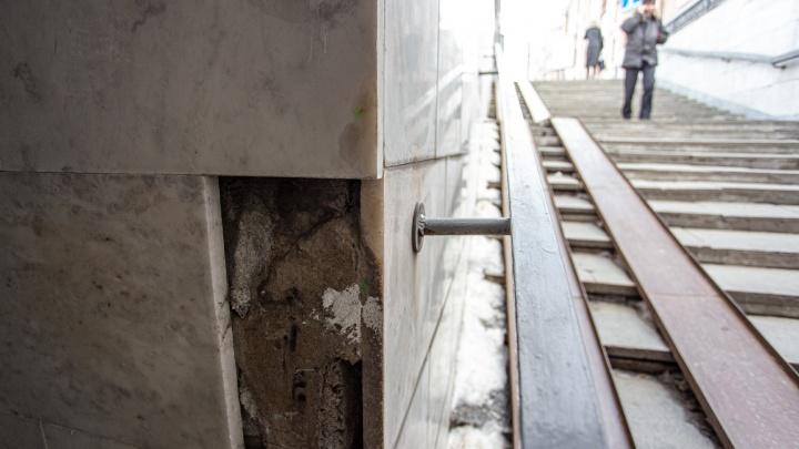 В мэрии заявили о проделанном ремонте в переходе в центре Челябинска. Мы проверили (догадайтесь)