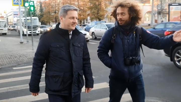 Видео: блогер-урбанист Илья Варламов встретился с главой Архангельска Дмитрием Моревым