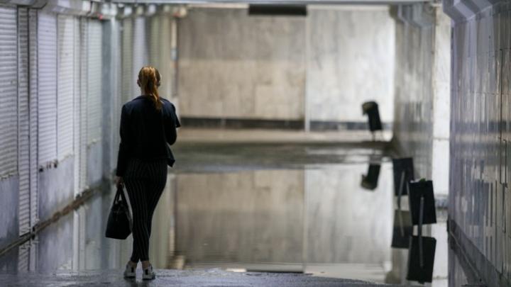 «Как крысы, должны проплыть под землёй»: урбанист извинился за мэрию перед челябинцами за потоп в переходе