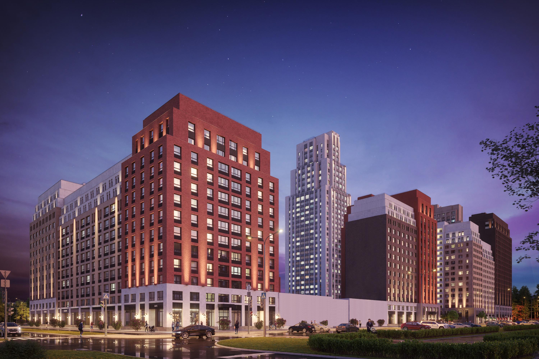 Так будет выглядеть квартал, когда завершится строительство всех шести домов
