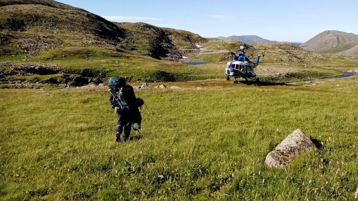 Туристов из Перми и Москвы эвакуировали на вертолете с Северного Урала