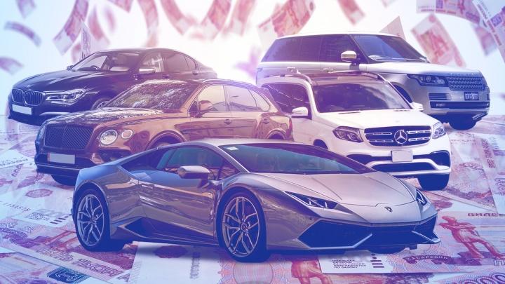 Новосибирец отдает по 290тысяч за свой «Ламборгини». Изучаем список авто с гигантским транспортным налогом