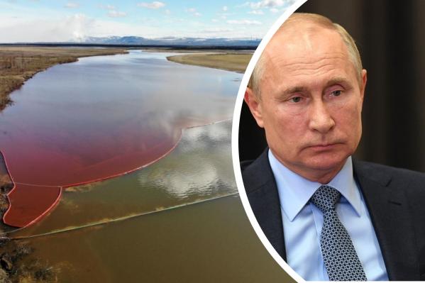 Владимиру Путину в очередной раз доложат о ситуации в Норильске