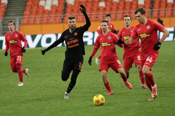«Урал» и «Тамбов» забили по одному мячу