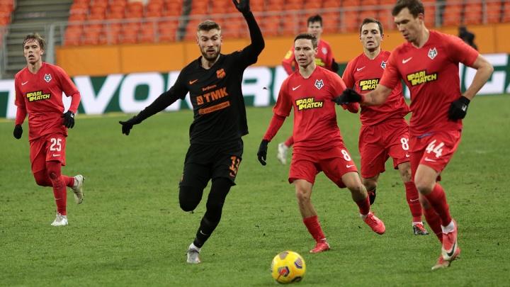 В последнем матче года «Урал» потерял очки в очень важном матче с аутсайдером