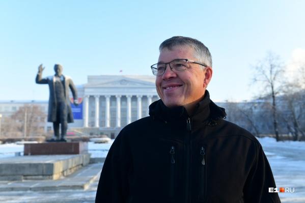 Выпускник УПИ Борзенков решил поддержать проекты, связанные с образованием