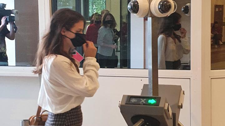 В СФУ установили цифровую систему, распознающую студентов по лицу