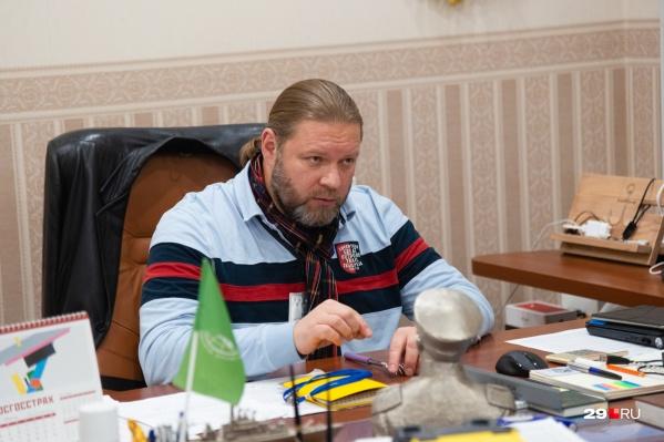 Андрей Терентьев — директор АМПК. С 2014 года занимается проектом по раздельному сбору мусора в Архангельске