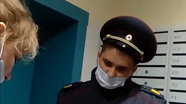 Тоболячка без маски пожаловалась на магазин в полицию и сама попала под суд