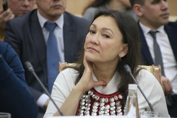 Саитова известна своими спорными высказываниями