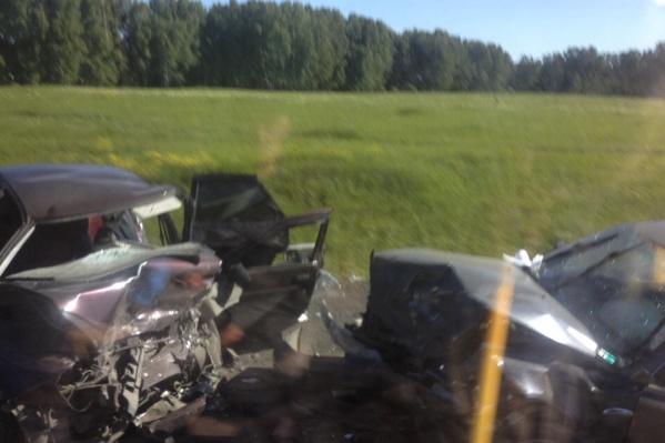 Авария произошла около 8 утра
