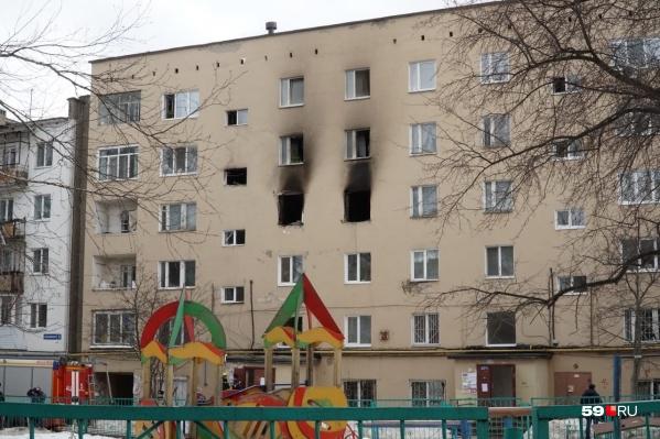 Взрыв газа произошел в доме на Чернышевского, 3