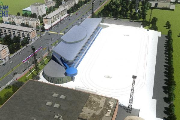 Утвердили такой вариант стадиона, теперь необходимо проработать все детали проекта