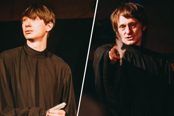 Константин Итунин (слева) и Олег Ягодин (справа) работают в Коляда-театре