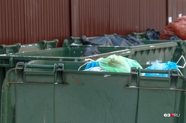 Специалисты проводили замеры, чтобы выяснить, кто и сколько мусорит