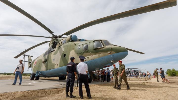 «Посмотрите по телевизору»: в День Победы над Волгоградом пронесутся военные самолеты и вертолеты