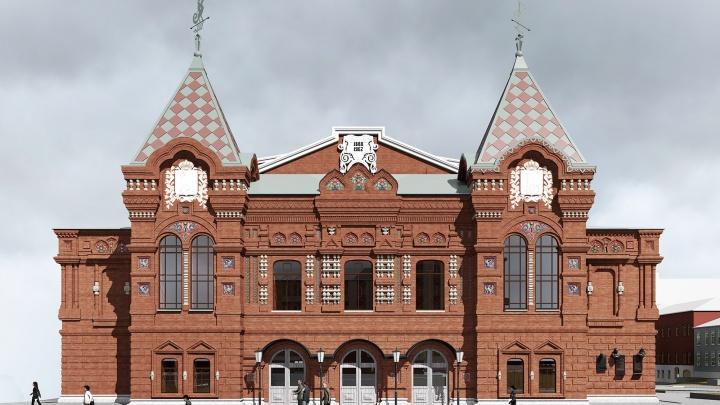 Архитектор показал, как примерно будет выглядеть обновленное здание драмтеатра