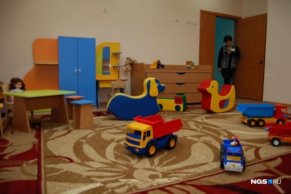 Сейчас в детских садах работают только дежурные группы