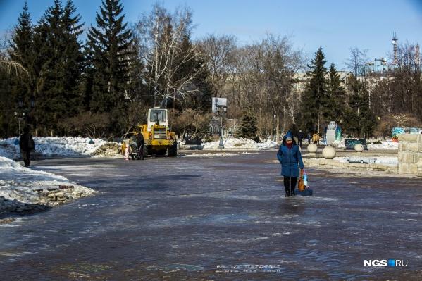 Похолодание придёт в Новосибирск в воскресенье
