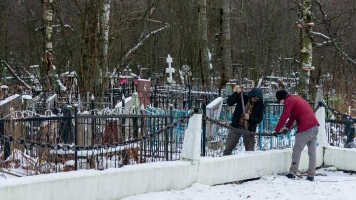 Фотографии из морга и гробы со стеклом: как хоронят больных COVID-19 в Архангельске