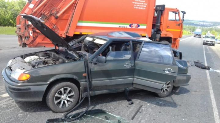 Водитель КАМАЗа не уступил дорогу: смертельное ДТП в Сергачском районе