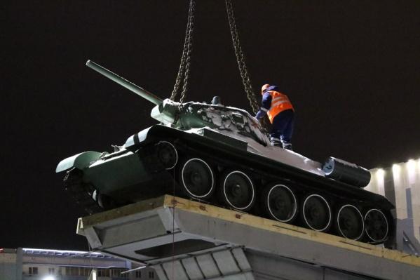 На старом месте танка Т-34 появится «что-то новое»