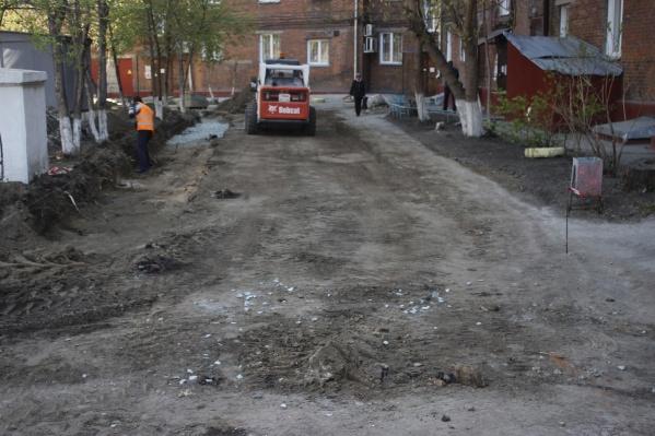 В этом году в Новосибирске планируют благоустроить 220 городских дворов