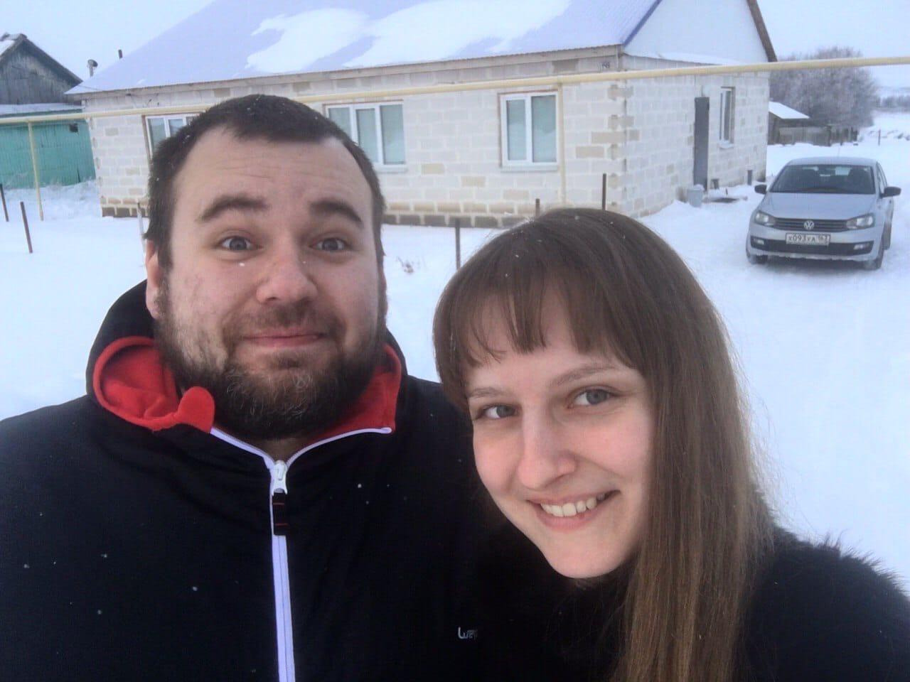 В деревне Светлана с мужем стали более ответственными