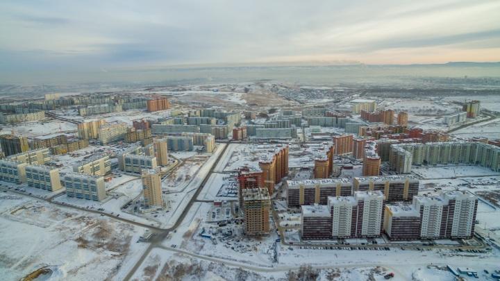 Выросли в чистом поле: как изменились районы Красноярска за 10лет