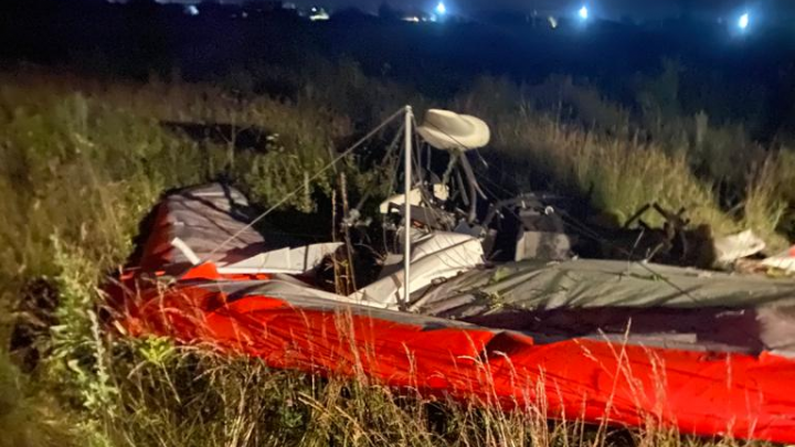 В Башкирии упал мотодельтаплан: пассажир погиб, пилот — в реанимации