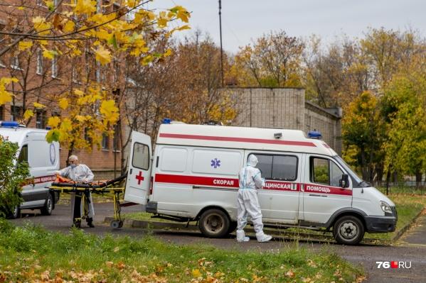 Мест в COVID-госпиталях Ярославской области с каждым днём становится меньше