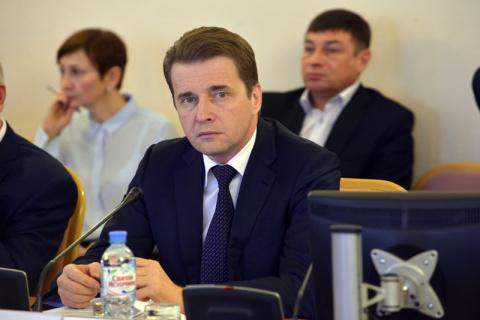 В парламенте Горицкий занимает должность председателя комитета по бюджету, налогу и финансам