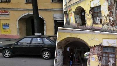 Власти подают в суд на жильцов разваливающегося старинного дома в центре Ярославля