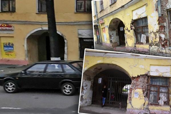Год за годом состояние дома на Советской улице становится хуже