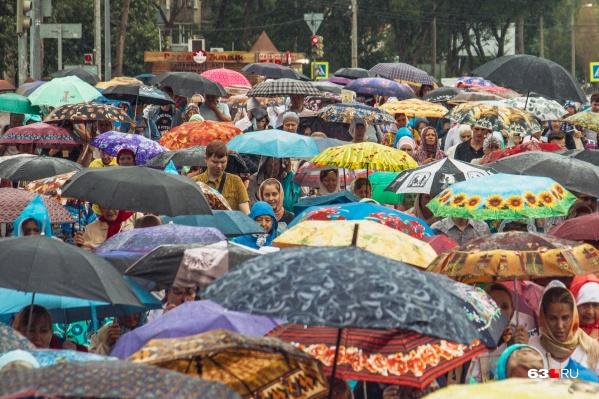 Скоро зонтики можно будет отложить в сторону
