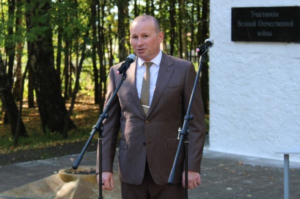 Талалов занял пост главы района совсем недавно