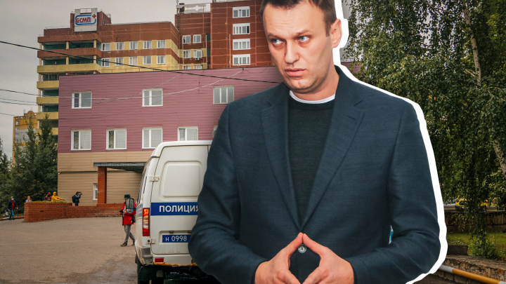 В МВД заявили, что перед госпитализацией Навального омский аэропорт «заминировали» из Германии