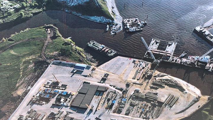 «От этого зависит надежность конструкции»: строители моста у Климовки вышли на новый этап работ