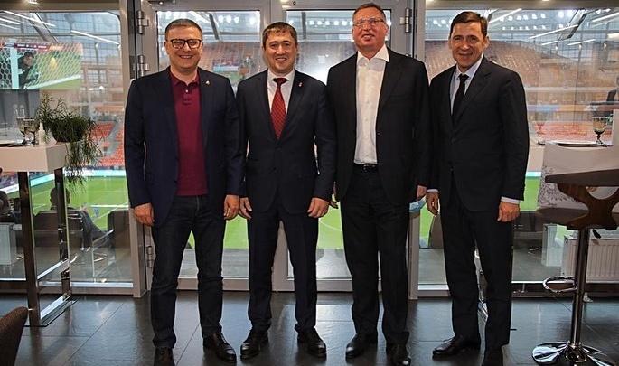 «Будем расширять границы вместе!»: Куйвашев обсудил вопросы развития спорта с губернаторами соседних регионов