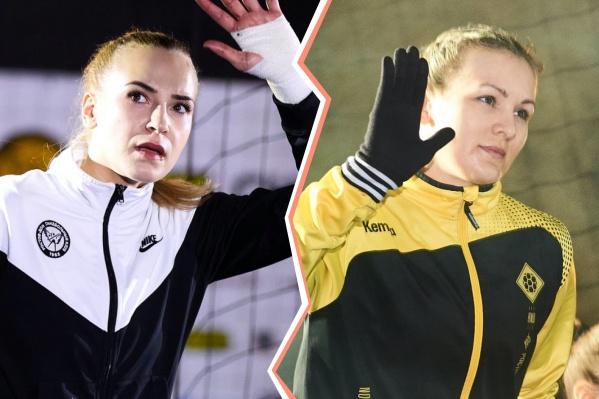 В новом сезоне Анна Седойкина будет защищать ворота московского ЦСКА. Ирина Никитина пока без команды.
