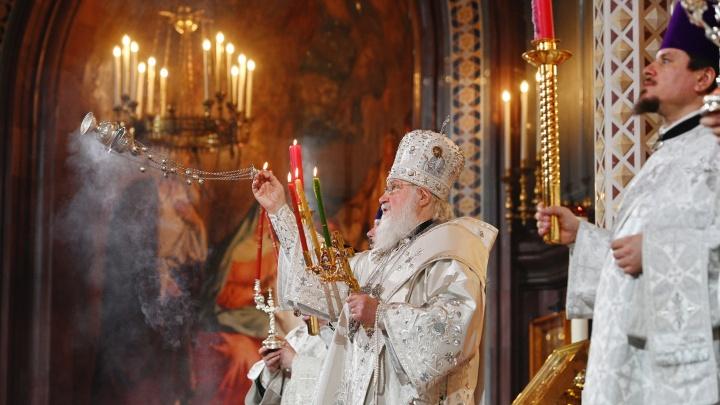 Патриарх Кирилл пригрозил церковным судом священникам, которые нарушат карантин