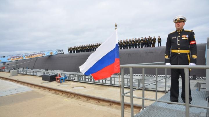 Подлодку «Князь Владимир», сделанную на Севмаше, приняли в состав Военно-морского флота России