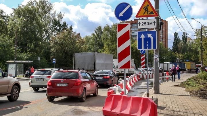 Улицу Циолковского перекрыли для строительства развязки: показываем, как обстоят дела на месте