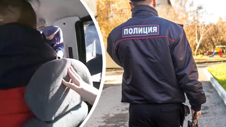 Под Новосибирском полиции пришлось силой вытаскивать мужчину из автомобиля — конфликт попал на видео
